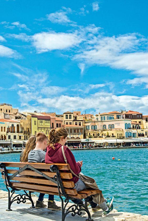 GREECE CHANNEL | Old harbor, #Chania, #Crete, #Greece http://www.greece-channel.com/