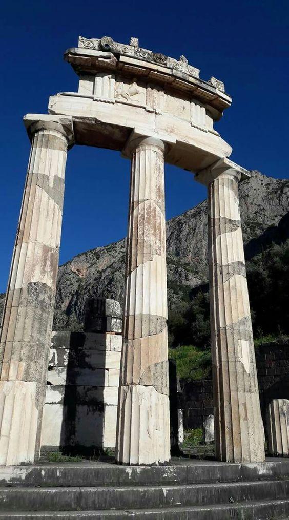 Delphi, Temple of Athena Pronaia, the Tholos