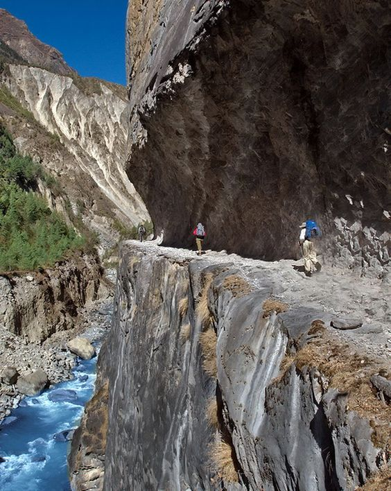 The Samaria Gorge is a national park on the island of Crete